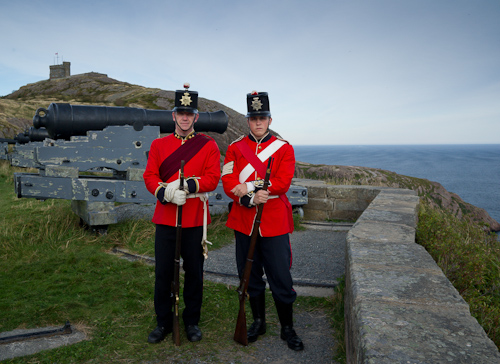 Royal Newfoundland Regiment at the Queen's Battery - St. John's