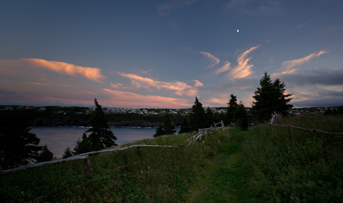Moon over Torbay - Father Troy's Trail
