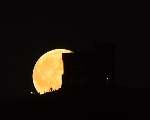 Hunter's Moon profiles the Cabot Tower on Signal Hill - St. John's