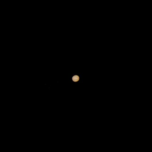 Jupiter in the October sky