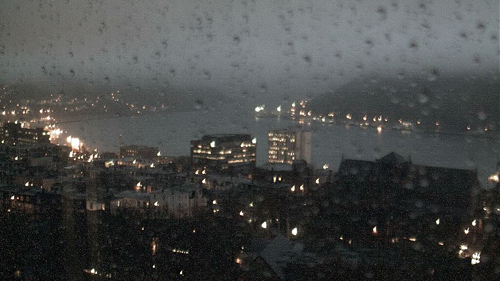 A dreary night ahead - CBC HarbourCam
