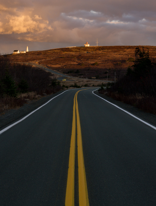 The end of the road - Cape Spear Drive