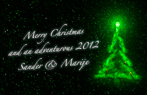 Merry Christmas and an adventurous 2012