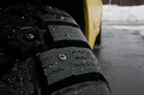 Studded winter tires - Torbay