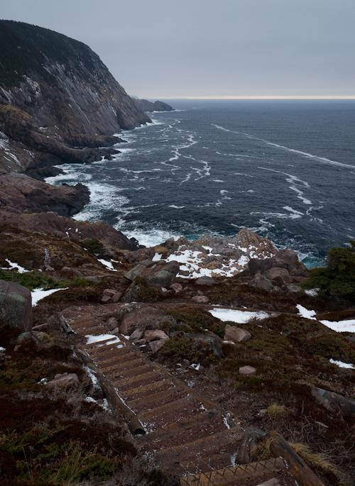 Grey winter weather - Cobbler Path
