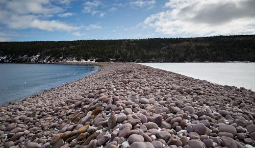 Freshwater Bay - barachois - Freshwater Pond - Deadman's Bay Path