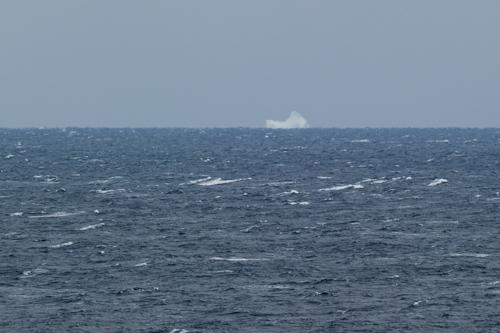 Iceberg on the horizon - Stiles Cove Path