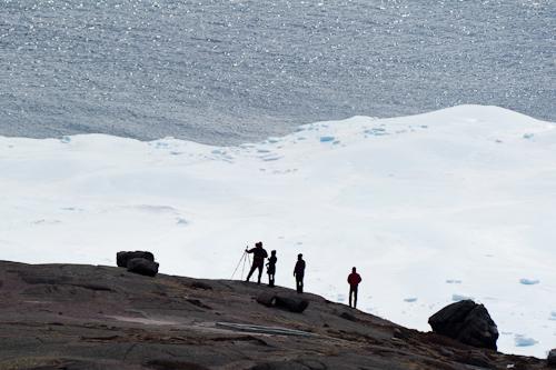 Iceberg spectators on North Head - Signal Hill