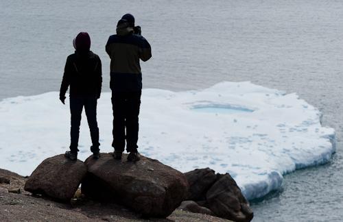 Iceberg spectators on North Head - North Head Trail