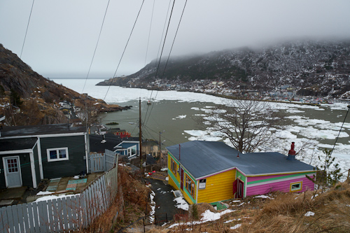 Ice in the Narrows - St. John's