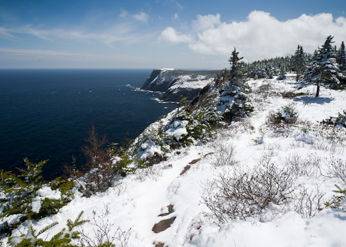 Spring snow on Red Cliff - Cobbler Path