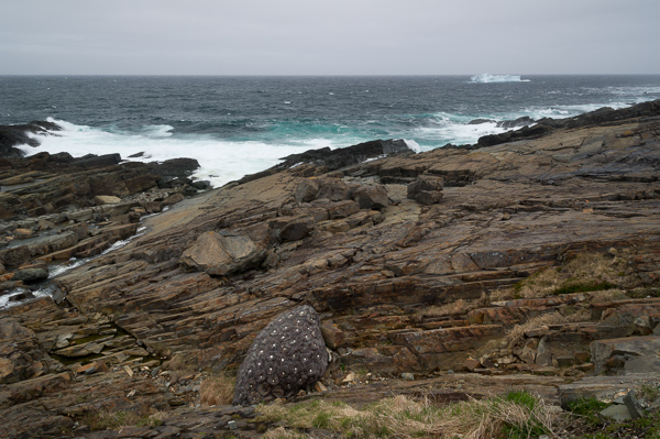 Strange object, a wider shot - Pouch Cove