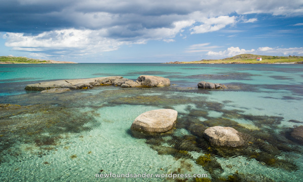 Crystal clear waters – Sandy Cove, Fogo Island