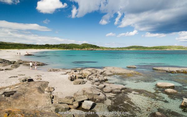 A beautiful beach - Sandy Cove, Fogo Island
