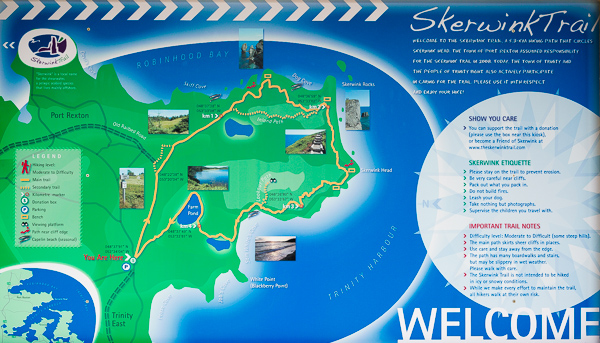 Map - Skerwink Trail