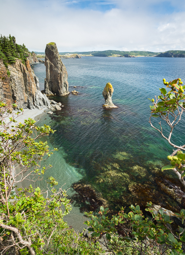 Sea stacks - Skerwink Trail