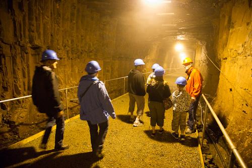 Into the mine - #2 Mine, Bell Island