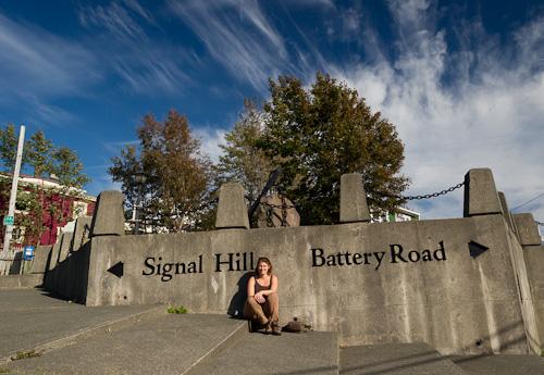 Majorie arrives on Signal Hill - St. John's