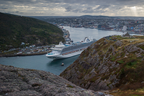 Emerald Princess in the Narrows - St. John's