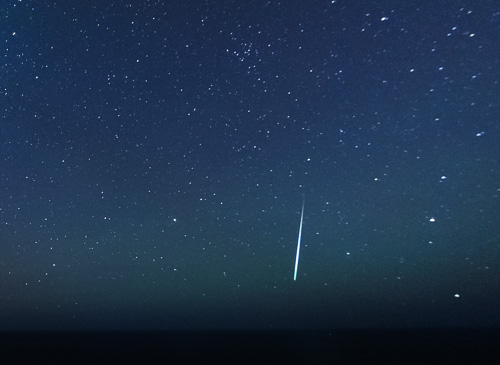 Fireball over the Atlantic Ocean - December 14, 2010