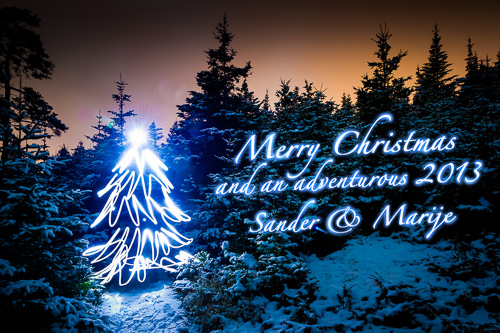 Merry Christmas and an adventurous 2013