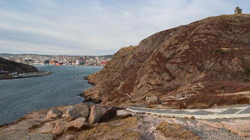 The Narrows and Signal Hill - North Head Trail, St. John's