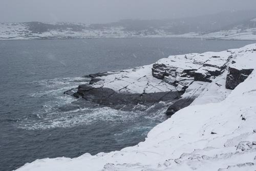 The bay in Flatrock - Stiles Cove Path