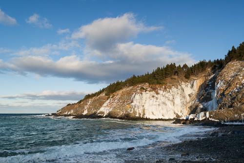 Calm blue sky - Outer Cove
