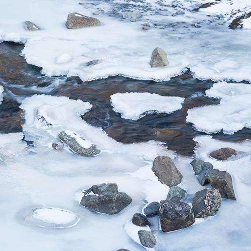 Frozen stream - Outer Cove