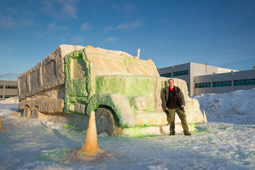 Snow Truck - CNA, Prince Philip Drive Campus, St. John's