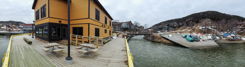 Dock side view - Quidi Vidi