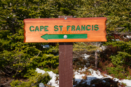 This way to Cape St. Francis - Biscan Cove Path