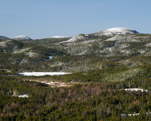 Pouch Cove hills - as seen from Biscan Cove Path