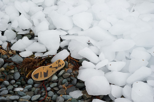 Ice on the beach - Outer Cove