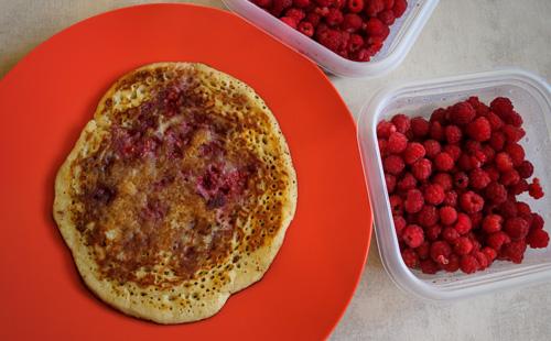 Raspberry Pancakes - Torbay