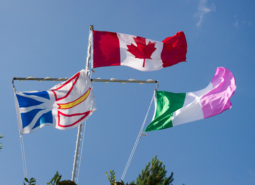 Three Flags of Newfoundland