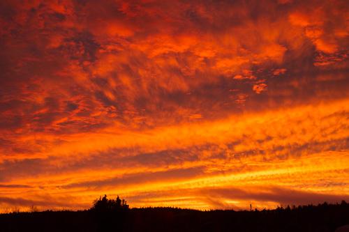 Sky on fire #1 - Torbay