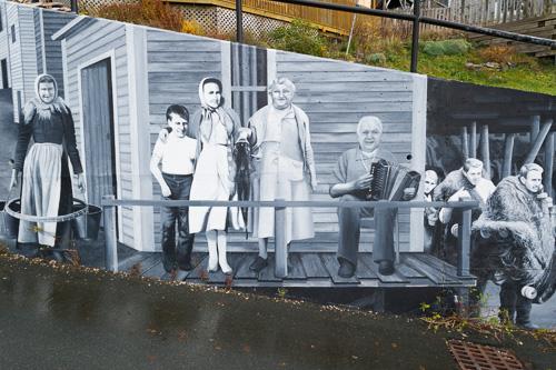 Mural near The Battery - St. John's