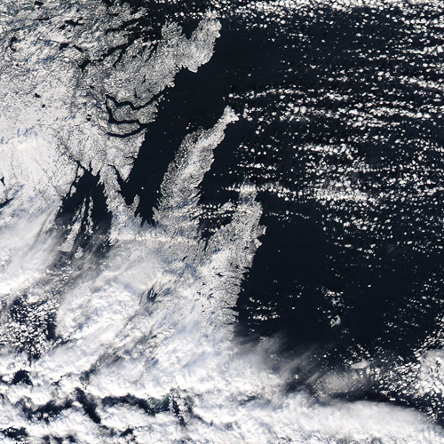 Bonavista and Avalon Peninsulas – Image Credit: NASA/GSFC, Rapid Response