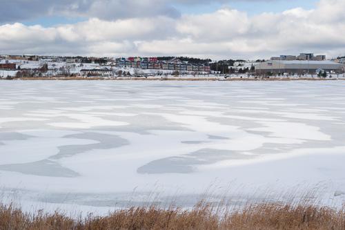 Frozen Quidi Vidi Lake - St. John's