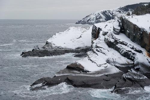 Cliffs at Stiles Cove - Stiles Cove Path