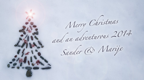 Merry Christmas and an adventurous 2014