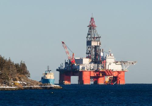 West Aquarius oil rig - Bay Bulls
