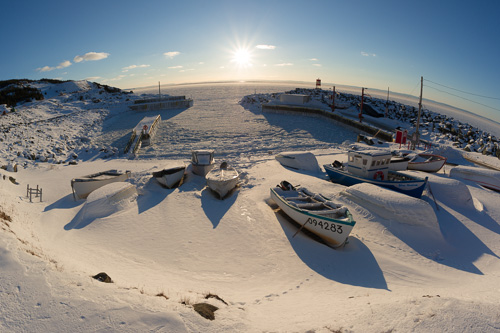 Winter harbour - Bauline