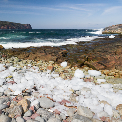 Iceberg pieces - Flatrock