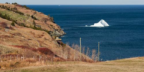 Iceberg in the bay - Torbay