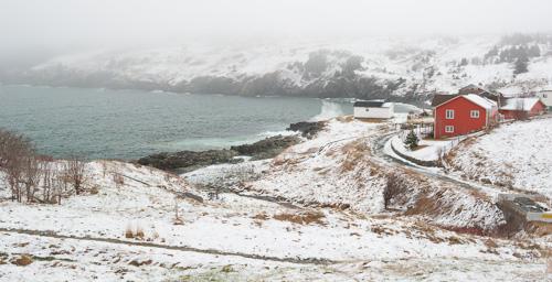 May snow - Torbay