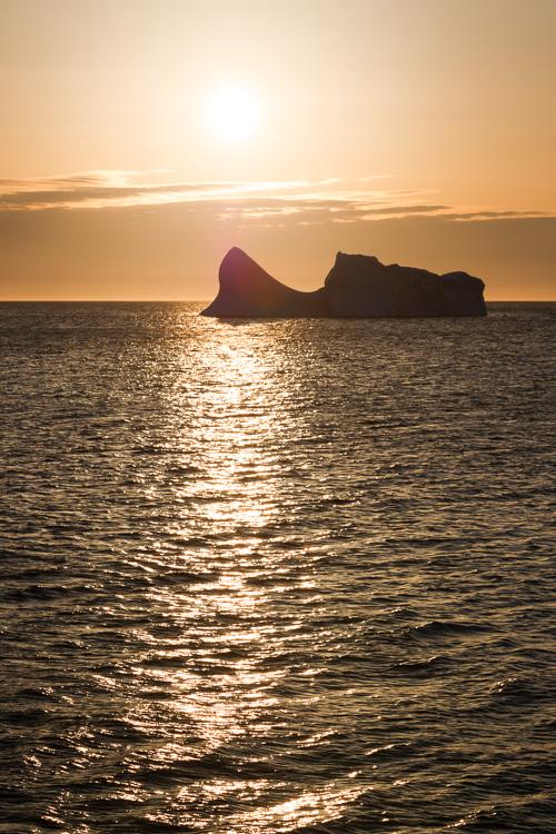 Iceberg sunrise - Father Troy's Trail