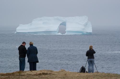 Iceberg watchers - Cape Spear