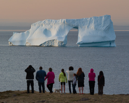 Iceberg watchers - Cape Spear
